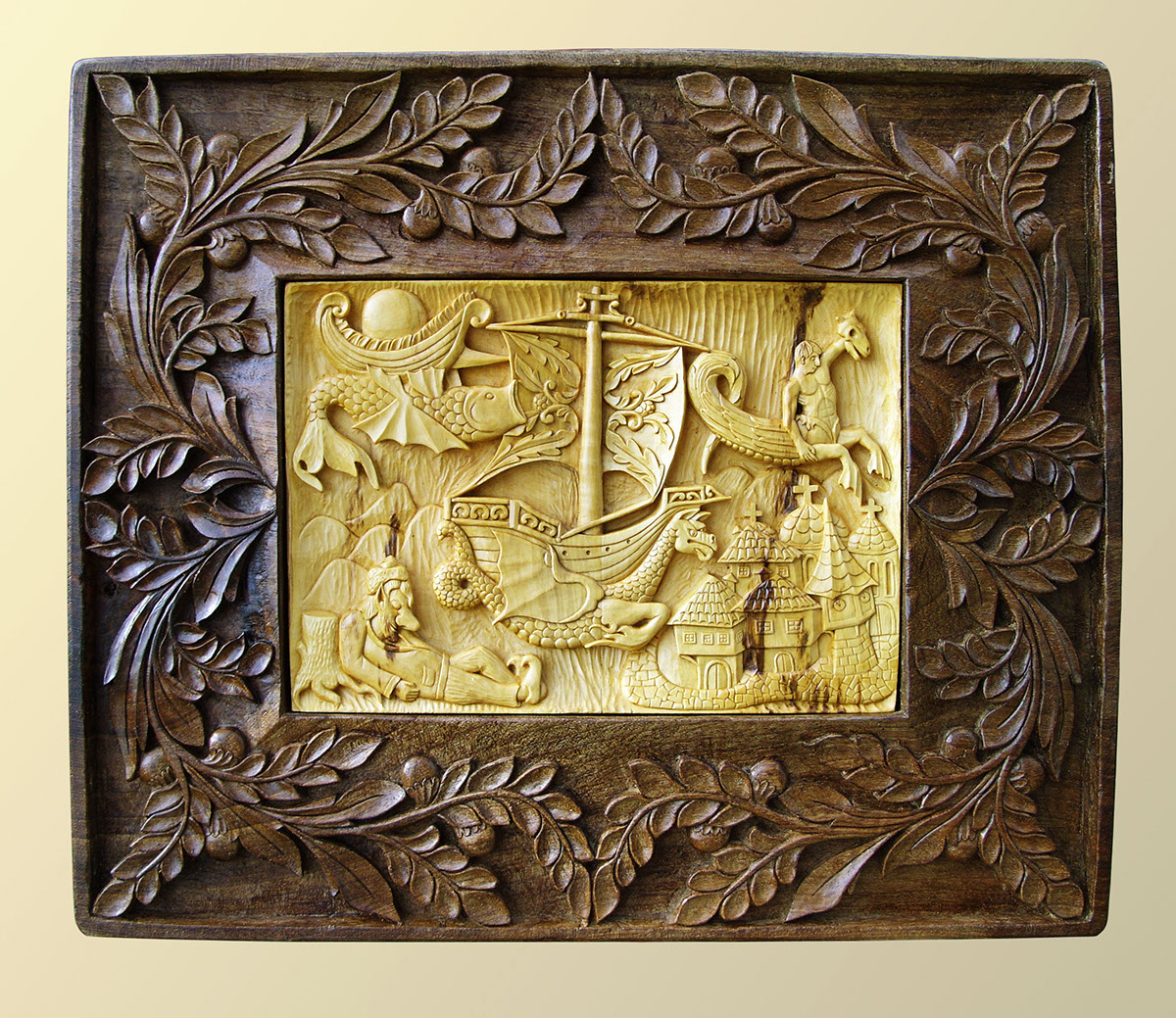 Wall Art Wood carving \