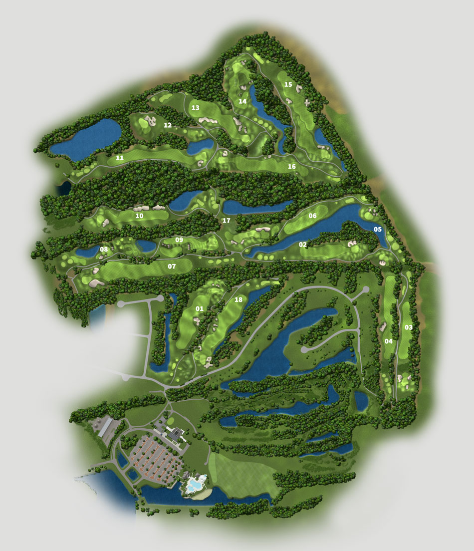 Golf Courses In South Carolina Map.Golf Course Maps On Behance