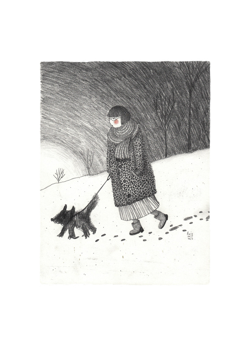 Image may contain: snow, skiing and drawing