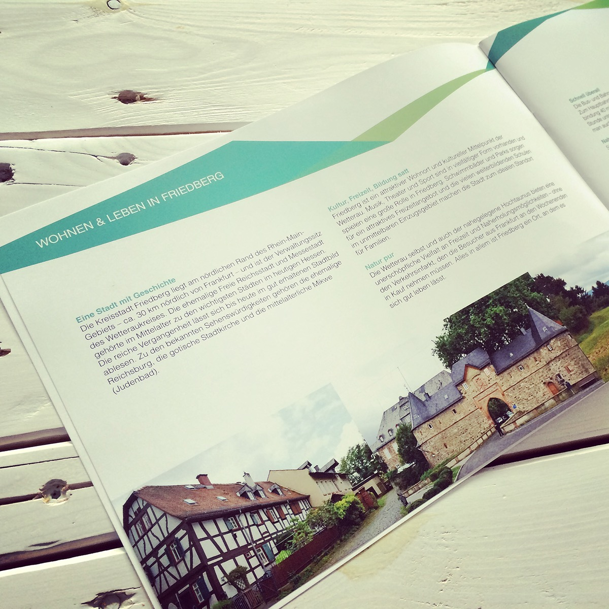 immobilien broschure inforation