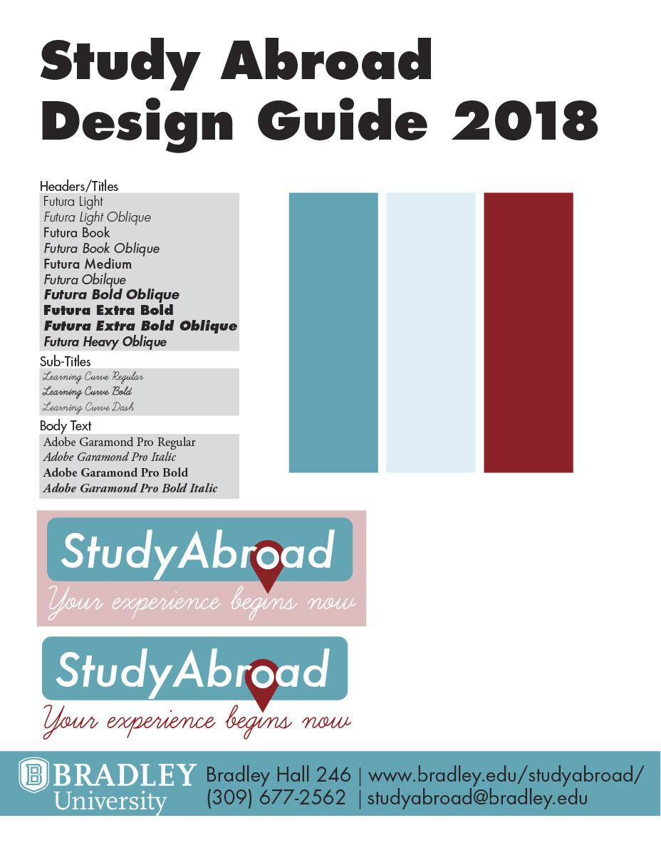Bradley University: Study Abroad on Behance