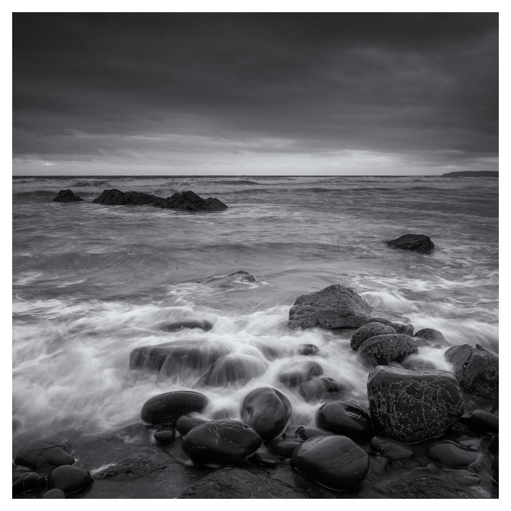 blackandwhite bw Coast fine art Mono mood sea seascape seascapes UK