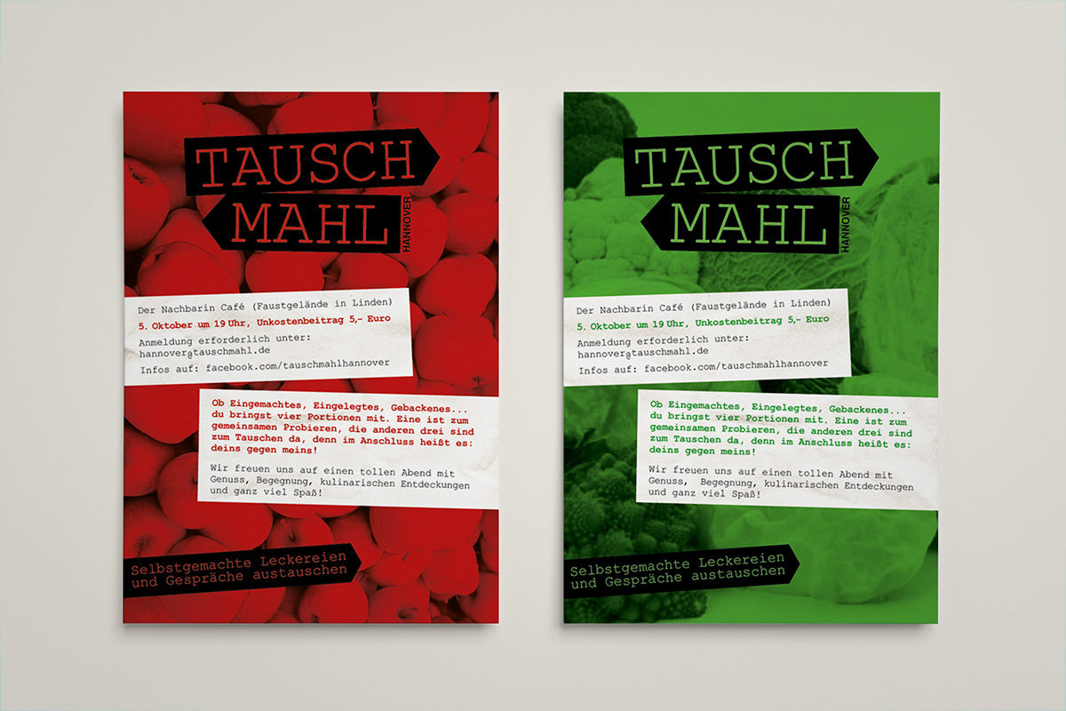 Corporate Design For Food Sharing Event On Behance
