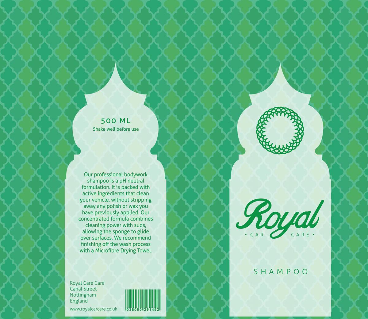 Royal Car Care (Branding & Packaging) On Behance