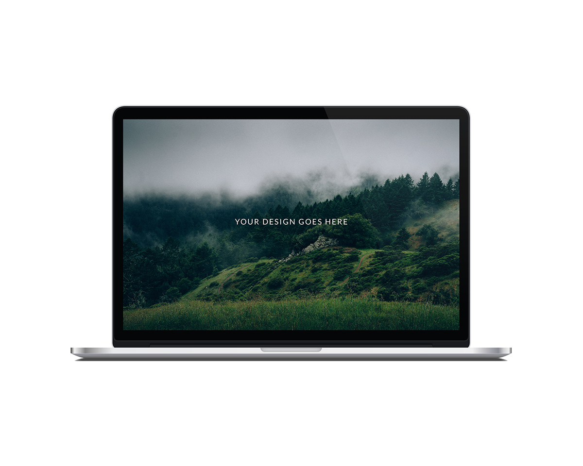 laptop vector mockup set flat version on behance
