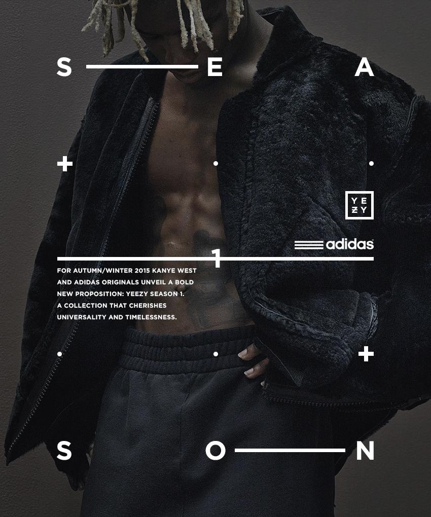 c6415facce31e Adidas Originals x Kanye West YEEZY SEASON 1 on Behance