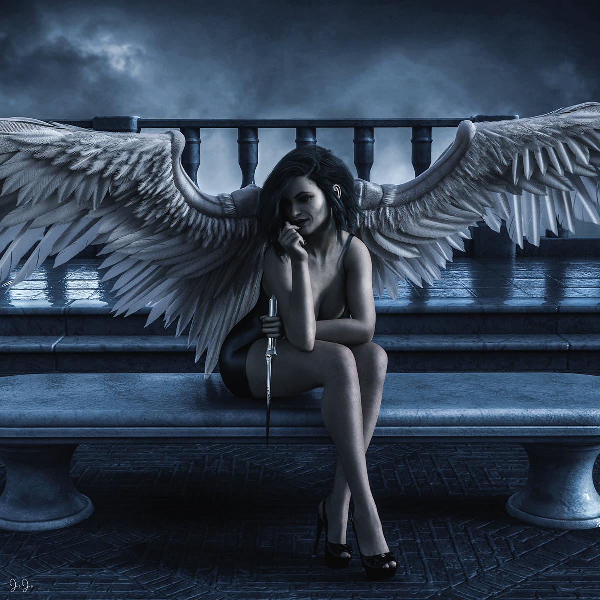 Красивые картинки падшие ангелы