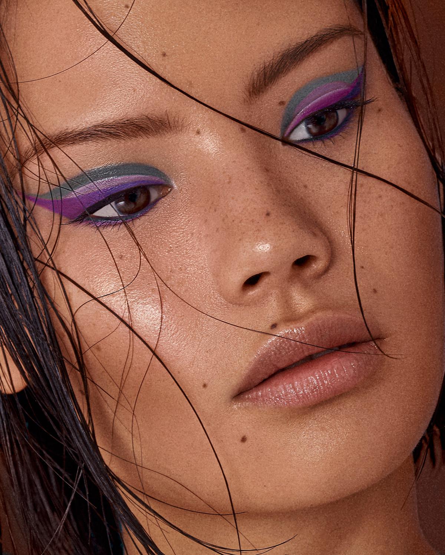 beauty beauty photography dewy makeup freckles makeup model photographer duo skin Studio Photography