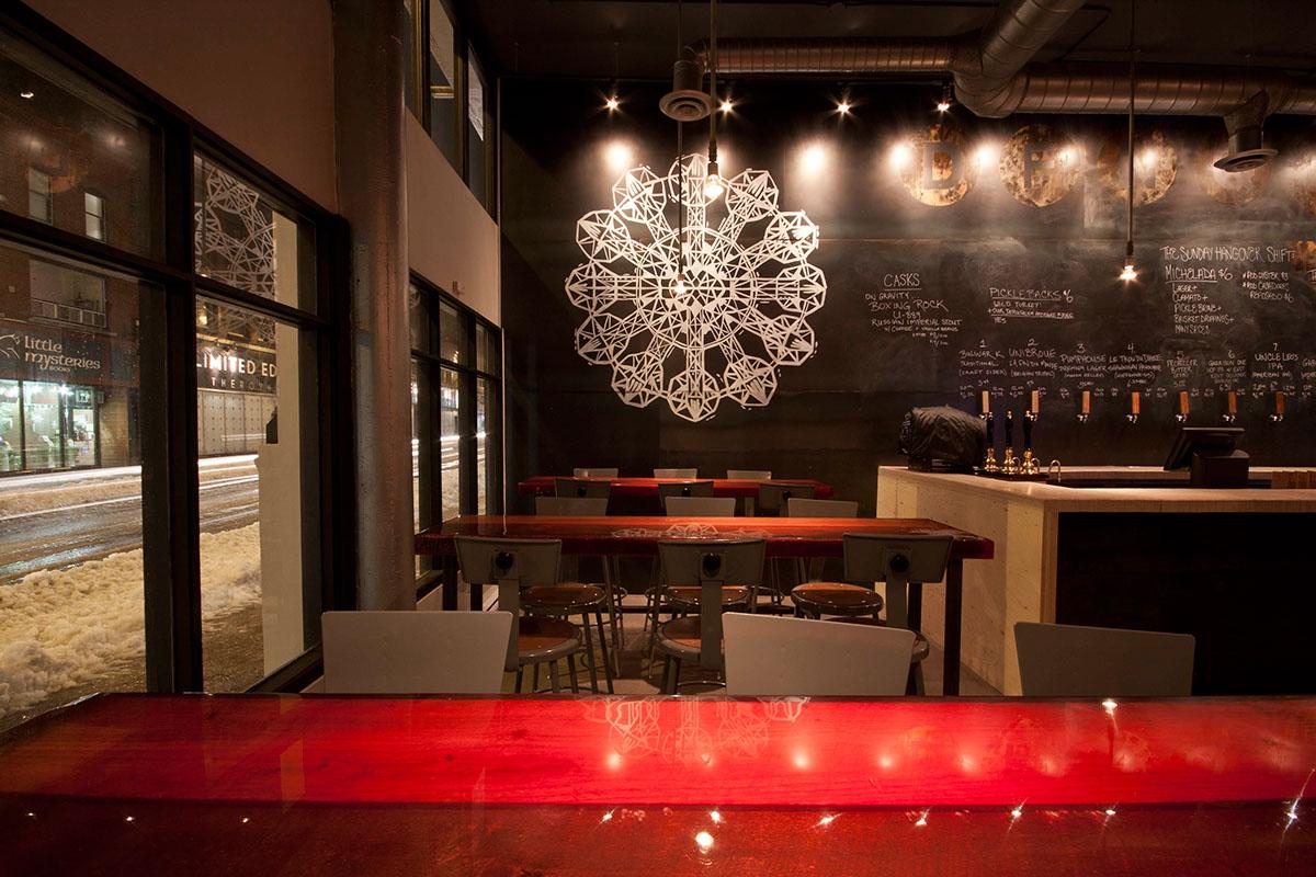Adobe Portfolio craft beer beer bar nano brew bar