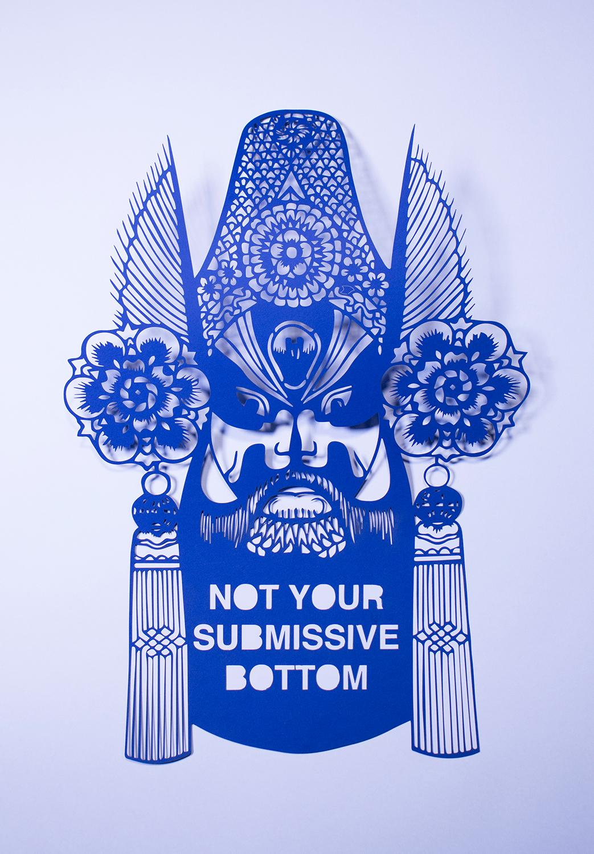 asianartist Antonius Bui AAPI vietnamese artist model minority Model Minority Mutiny cut paper paper art