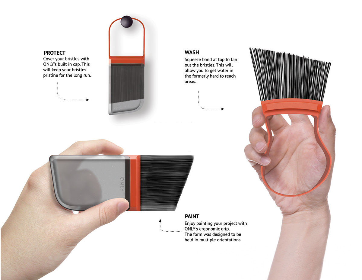 Product design only paintbrush for Product design