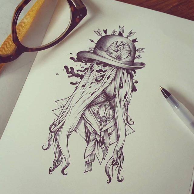 small drawings and sketches on behance
