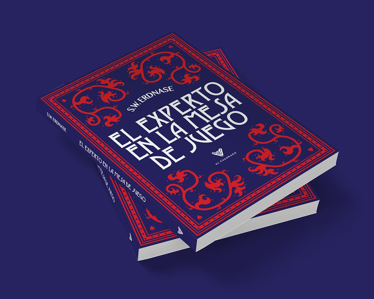 cards ace book libro cover Baralho joker typesetting editorial juego