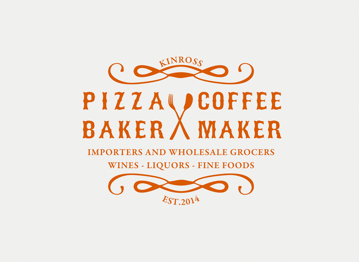 Various logo designs on behance initial logo designs for pizza baker coffee maker the court house 2018 sprocketdogdesign stopboris Choice Image