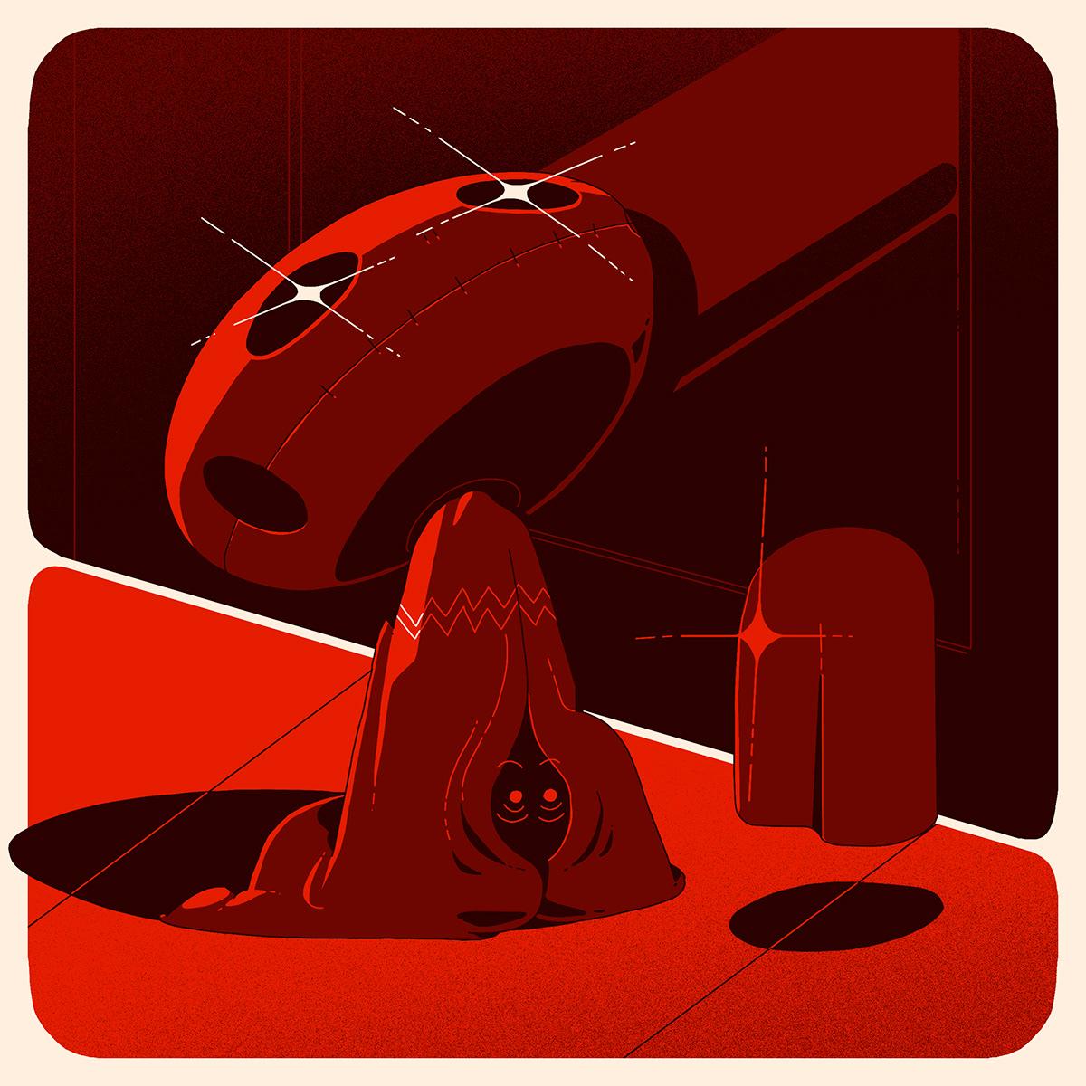 Adobe Portfolio artwork Character ILLUSTRATION  illustrations Illustrator ilustracion monsters