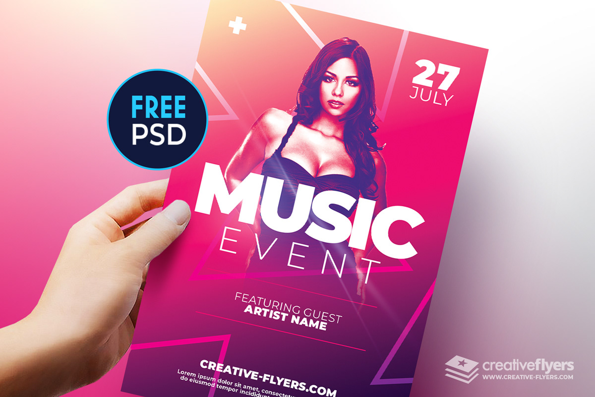 free psd flyer templates for photoshop