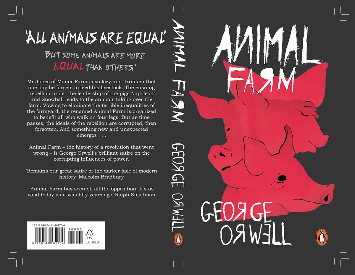 Penguin Student Awards 2018 Submission Animal Farm On Behance