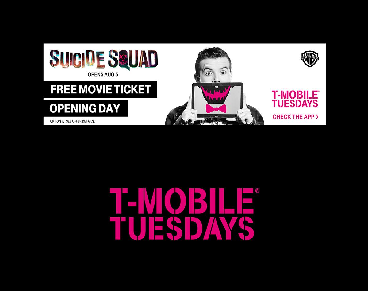 T-Mobile Tuesdays on RISD Portfolios