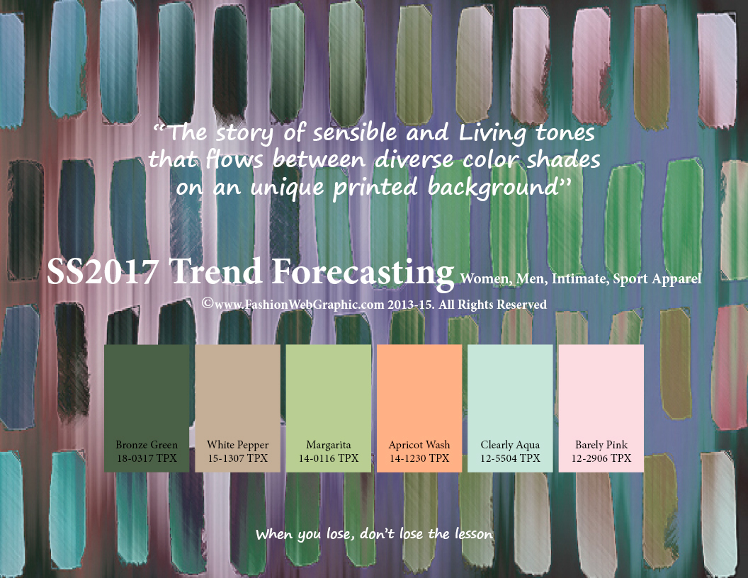 SS2017 Trend Forecasting On Behance