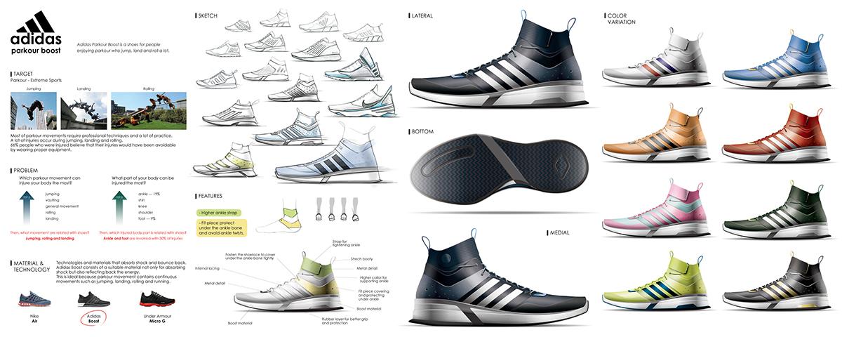 a66d663139a2 Adidas Parkour Boost on CCS Portfolios