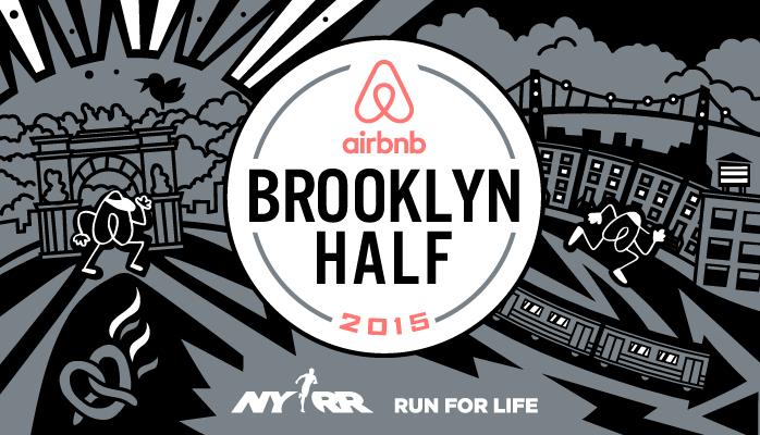 Airbnb Brooklyn Half Brand Signage Race Essentials On