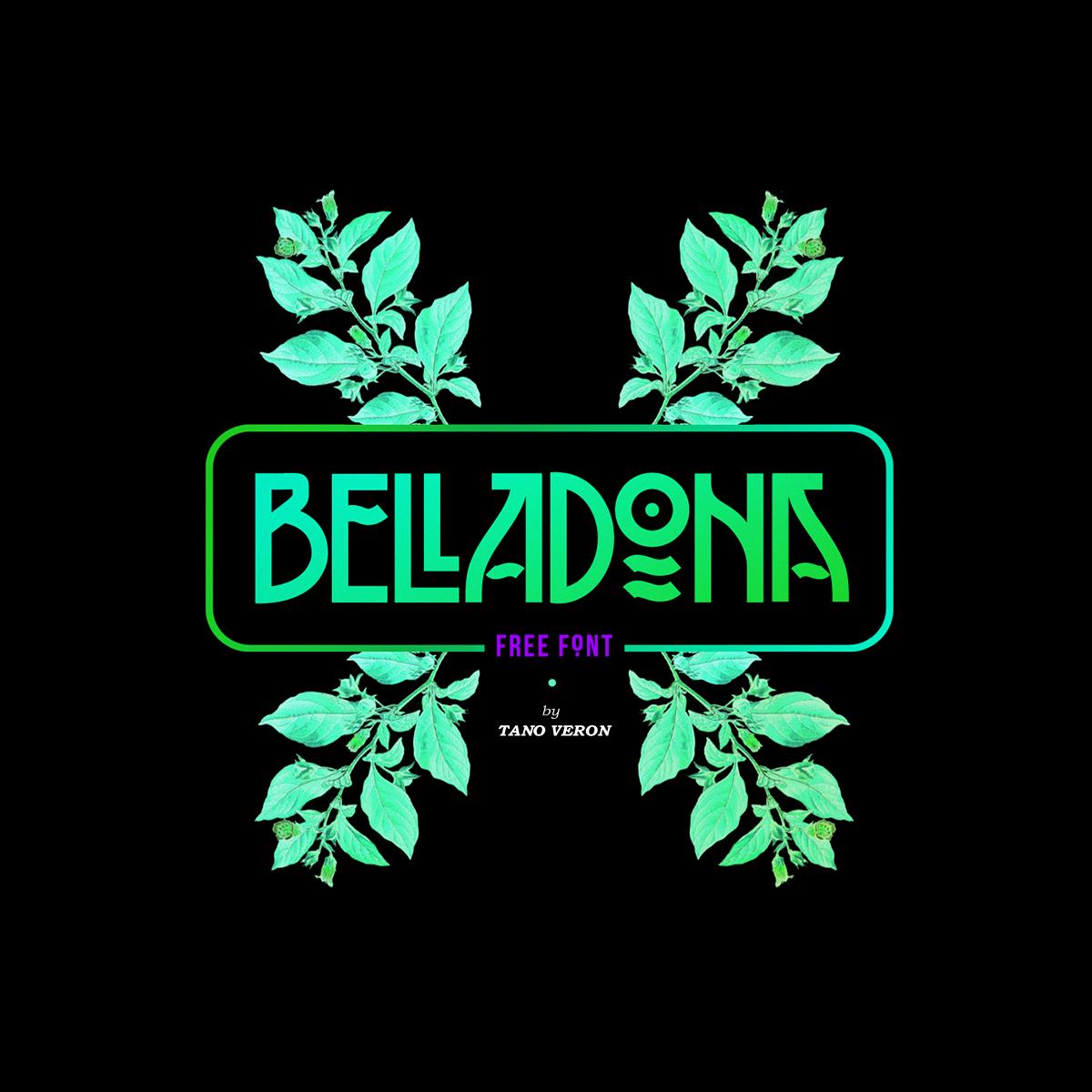 belladona belladonna beladona beladonna   Retro vintage poster fancy art nouveau New art tano old art deco
