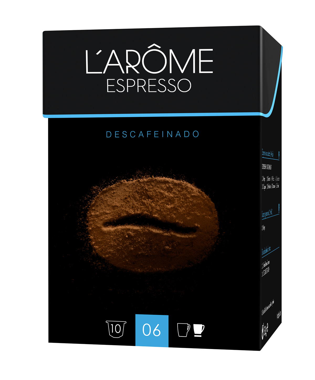 envase embalaje cafe larome l'arome