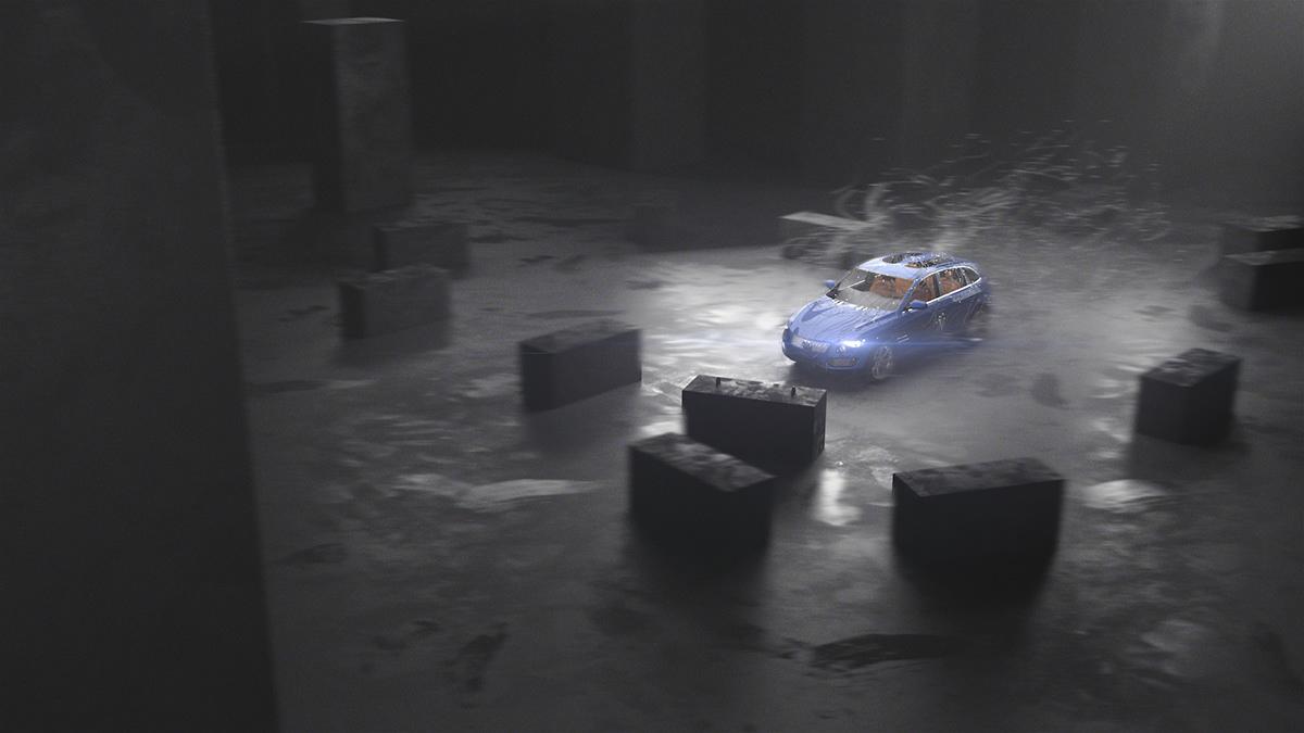 car render