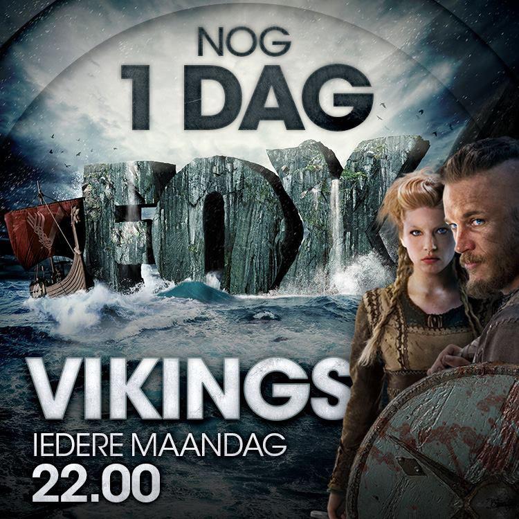vikings FOX Netherlands keyart