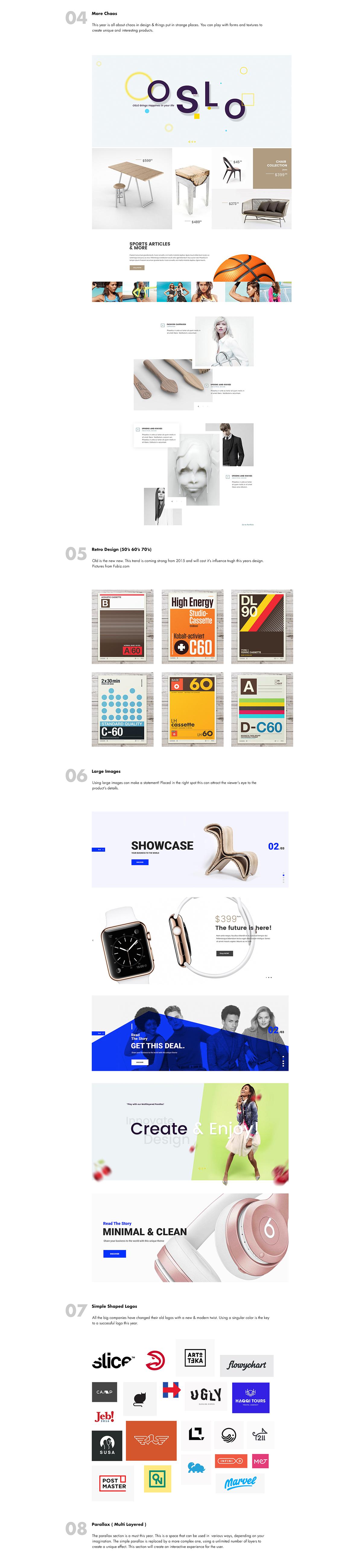 Web Design Trends Behance