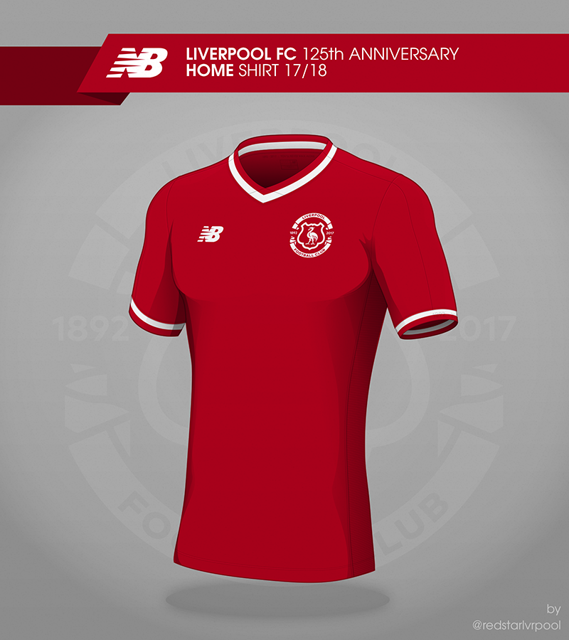 d652f123a Liverpool FC     17 18 Shirt Concepts on Behance