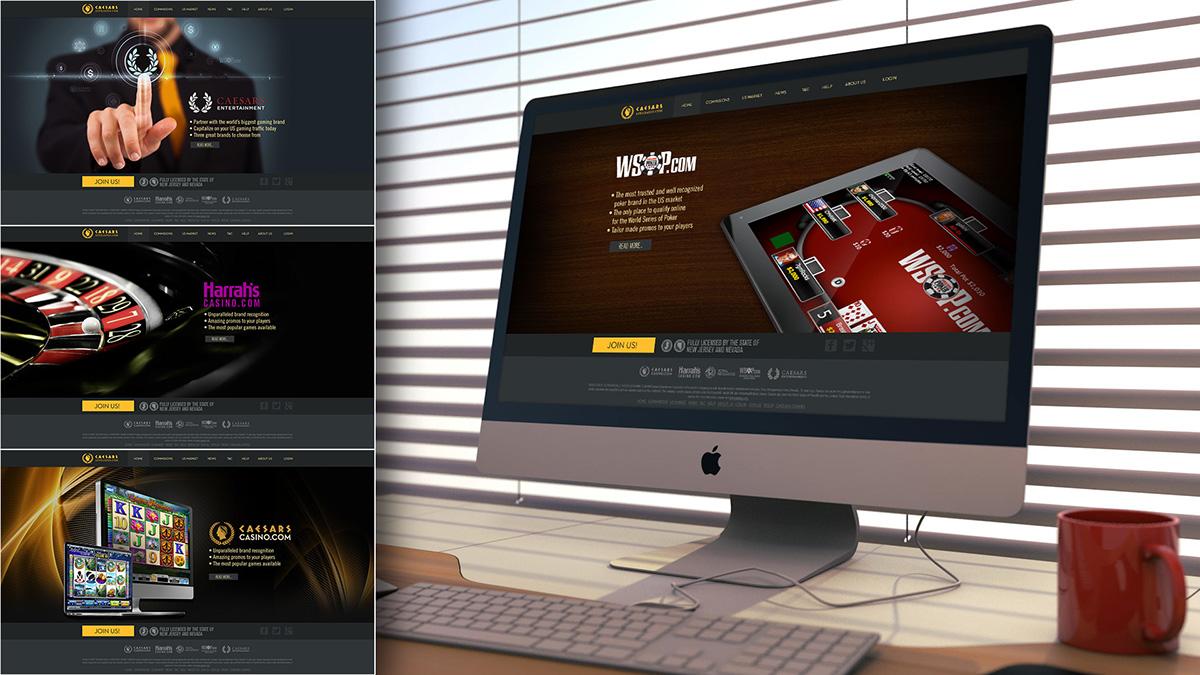 Caesars affiliate Web site