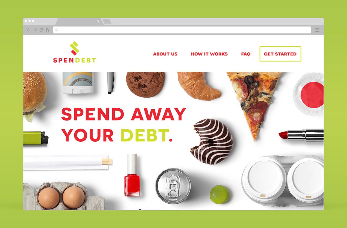 app Logo Design money finance Debt