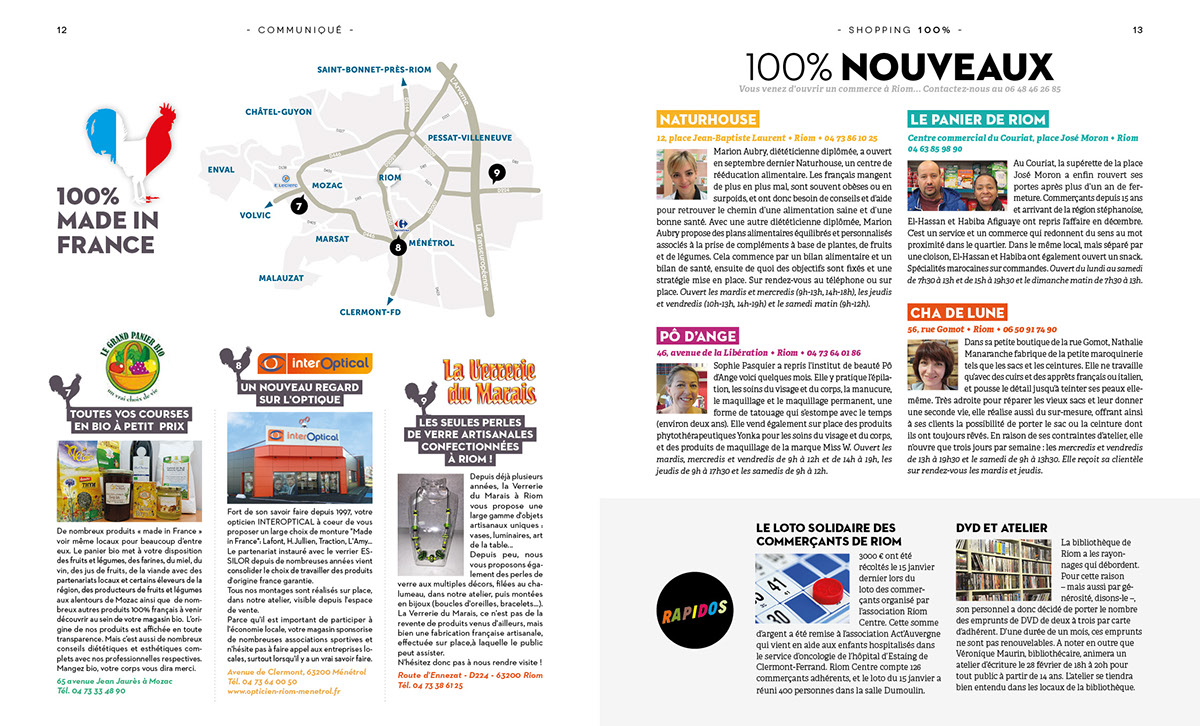 magasine City Guide