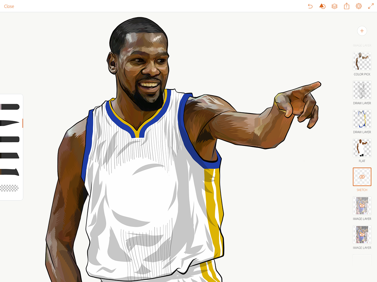 Kevin Wayne Durant on Behance