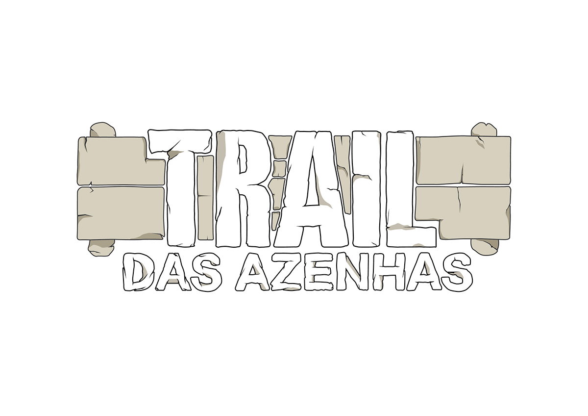 trail running esposende Portugal draw inking scanner color