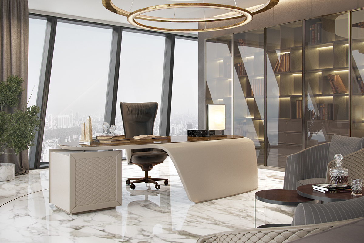 Luxurious office on behance for Office decoration pictures gallery