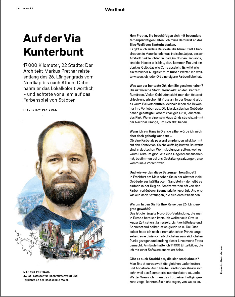 Portraits Lufthansa Magazine On Behance