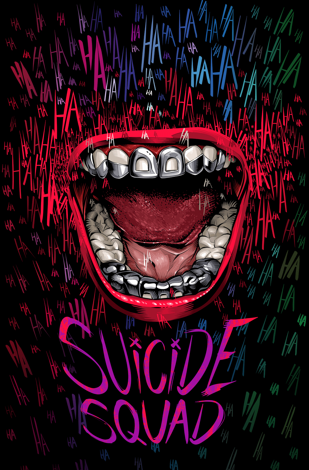 Suicide Squad Poster On Behance