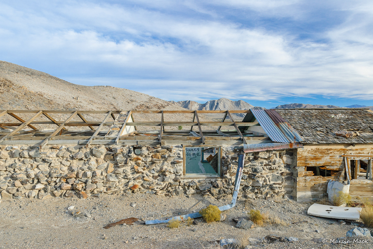 Adobe Portfolio Mojave desert abandoned mines darwin california Inyo County eastern sierra photographs marcia mack