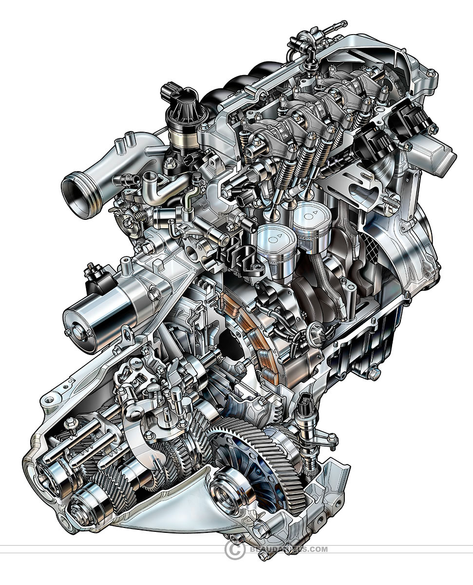 Generic Car Engines Portfolio 2 On Behance Front View Of A V8 Engine Diagram