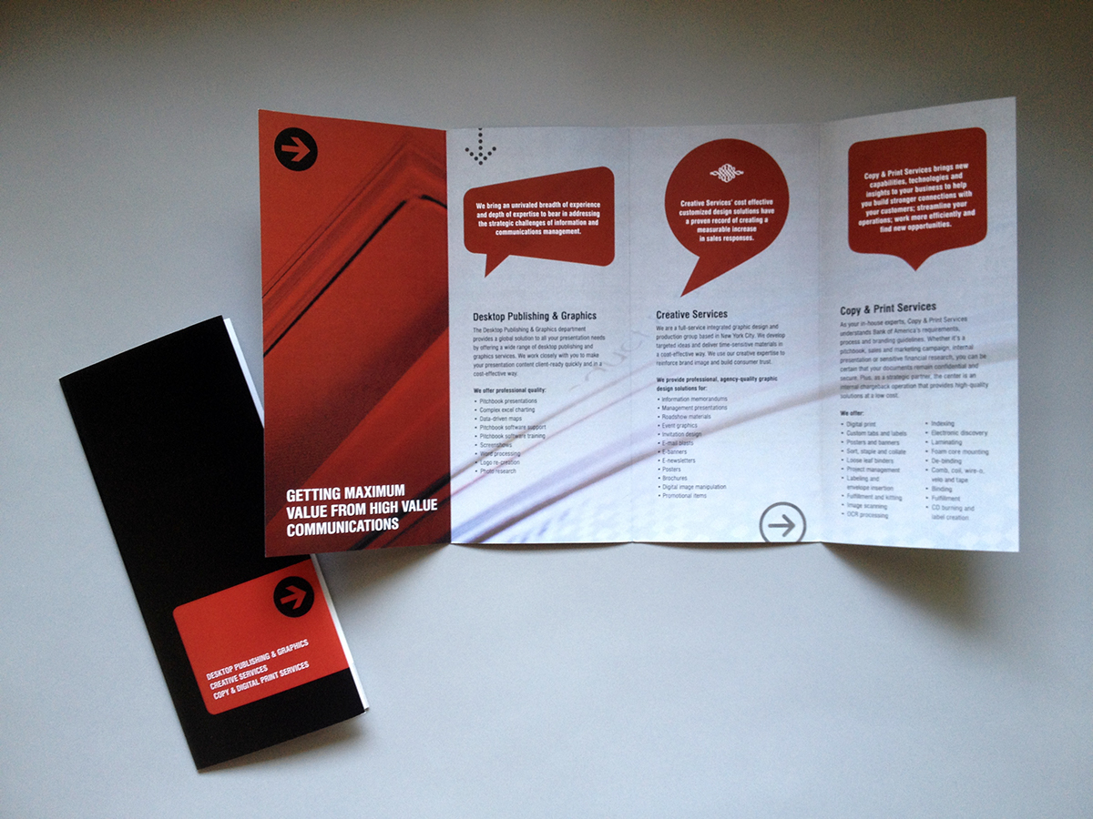 Bank Of America Merrill Lynch   Marketing Materials On Behance