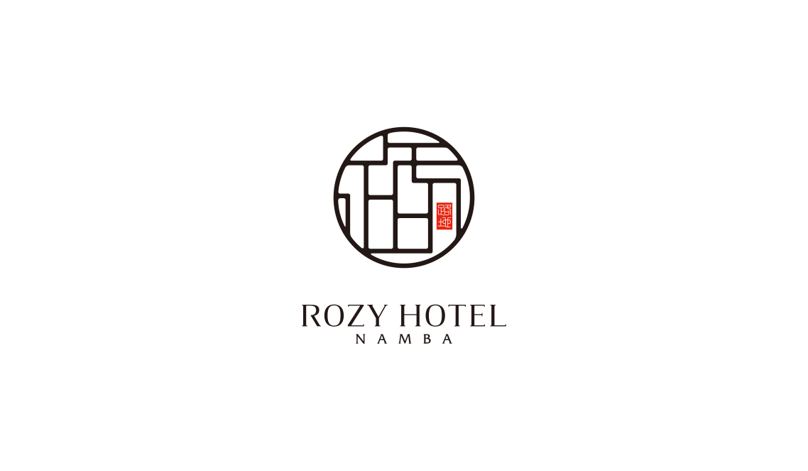 hotel logo design and branding on Behance