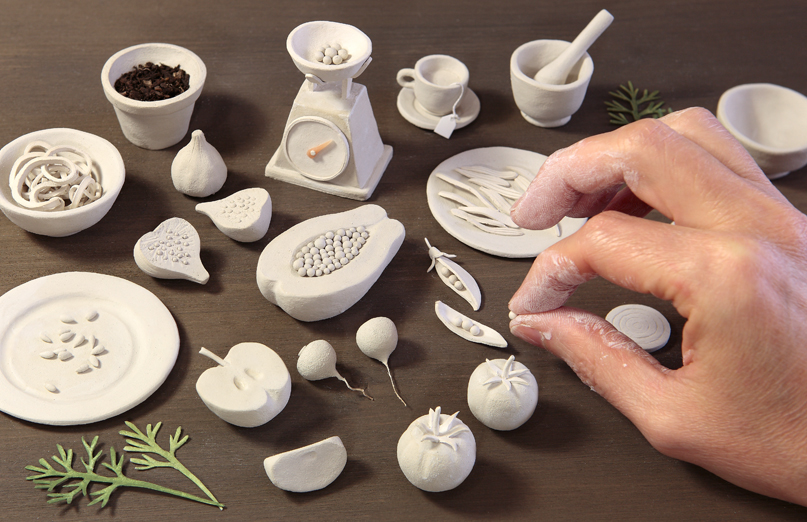 Lovely Things May 2016 - Irma Gruenholz Clay Illustrations