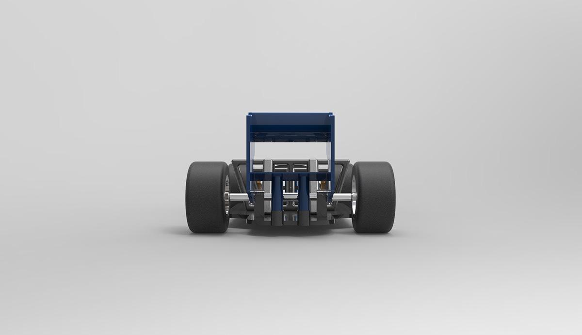 Formula 1 on Behance