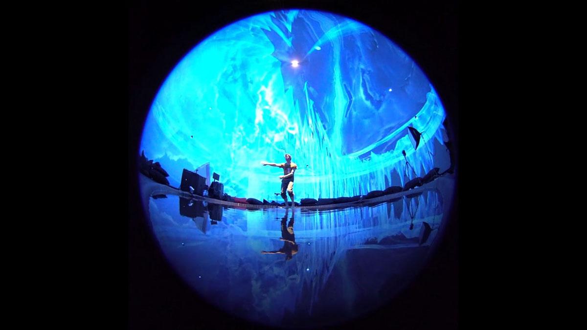 aqua khoria DANCE   unity immersive dome Virtual reality augmented reality