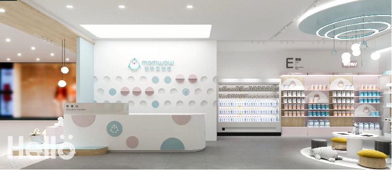 商业空间设计 店铺设计 母婴品牌设计 空间设计 零售空间设计