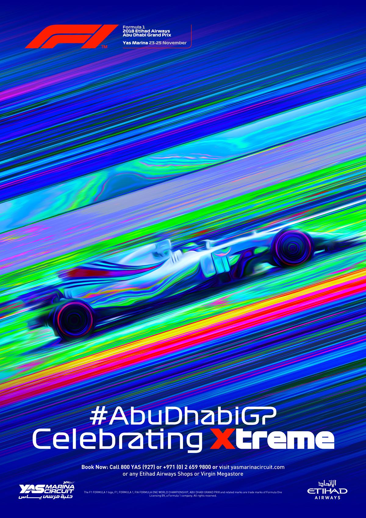 F1 Abu Dhabi GP 2018 - Pitch Idea on Behance
