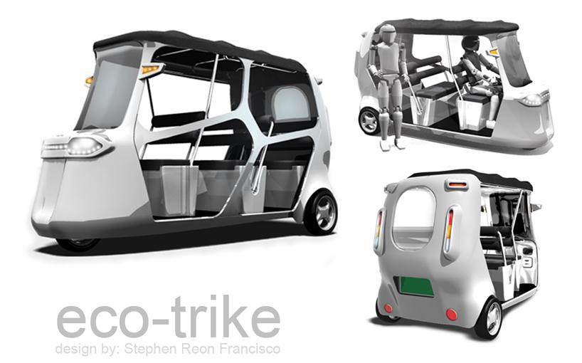 eco trike stephen reon francisco Eco E-Trike