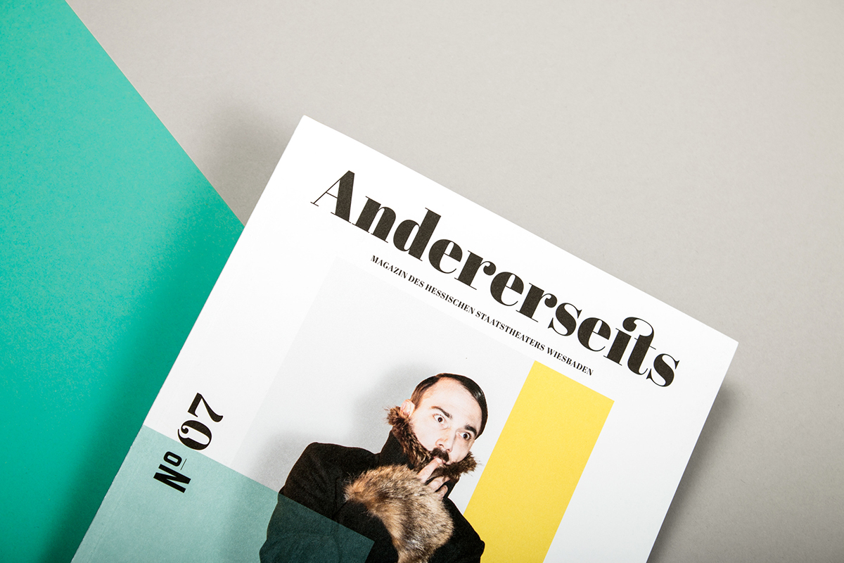 Andererseits Magazine On Behance